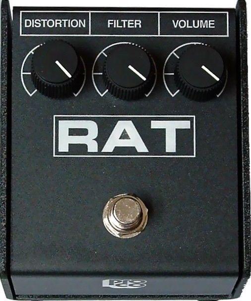 PROCO RAT 2 DISTORTION PEDAL w/ FREE SAME DAY SHIPPING! Rat2 Guitar Effect Box