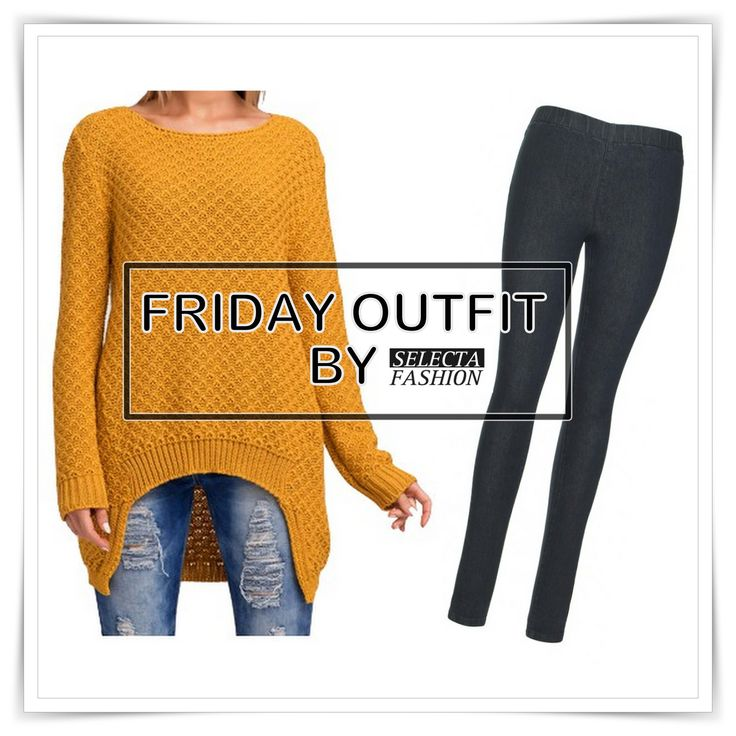 Friday outfit by @selectafashion  ‪#‎friday‬ ‪#‎iweartoday‬ ‪#‎outfit‬ ‪#‎style‬ ‪#‎beunique‬ ‪#‎selectyourfashion‬ ‪#‎dnesnosim‬ ‪#‎makadamia‬ ‪#‎jeggings‬  Shop here: http://goo.gl/ZYdVei And http://goo.gl/48zquP