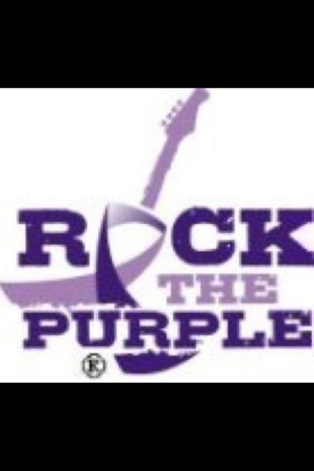 Rock the Purple, baby!! Chiari awareness!!!