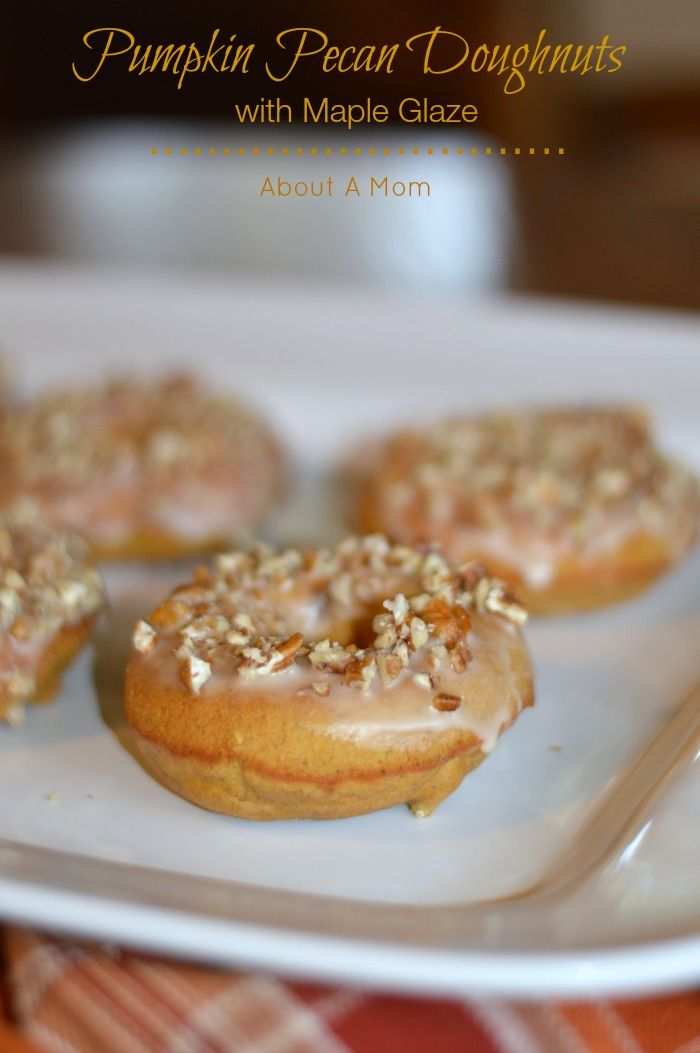 ... Donuts on Pinterest | Baked Donuts, Maple Glaze and Donut Muffins