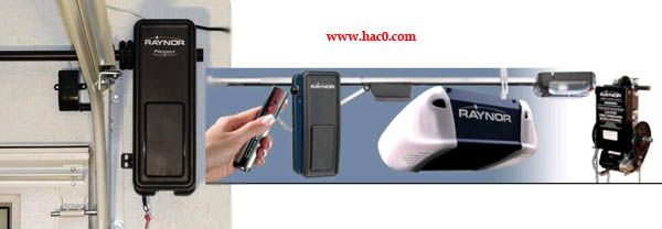 Raynor garage door opener remote