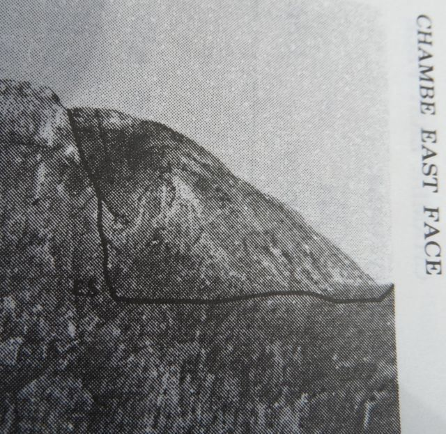 Easy Steet in the Rock Climbing section of Frank Eastwood's guide to the Mulanje Massif