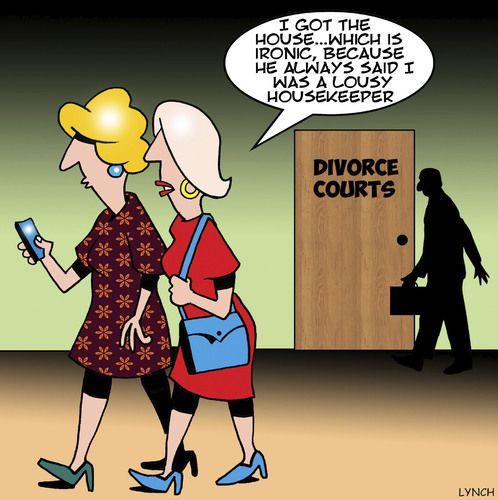 Image result for cartoons of divorce court