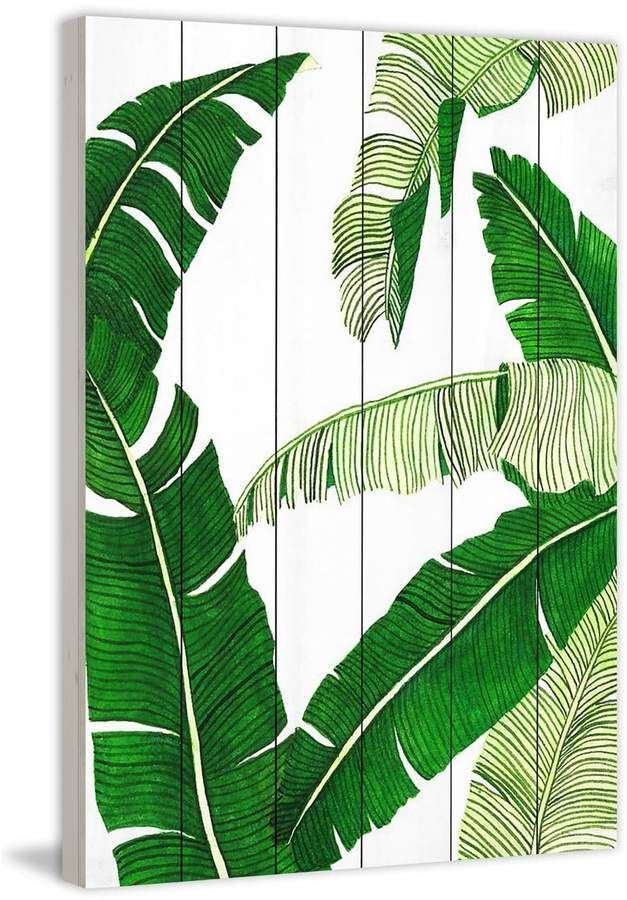 Banana Leaves Painting Painting Prints Kids Art Wall Frames Painting Frames