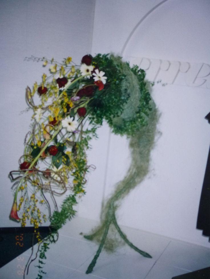 Fresh Flower Arrangement for Fashion Show by Kent Florist Mikiko Inoue