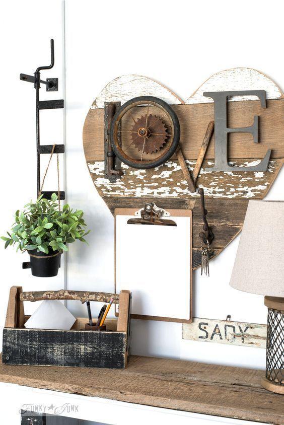 58 inspiring diy farmhouse home decorating idea decorating rh pinterest com