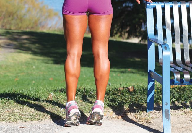 4 exercises for toned thighs and KILLER calves!