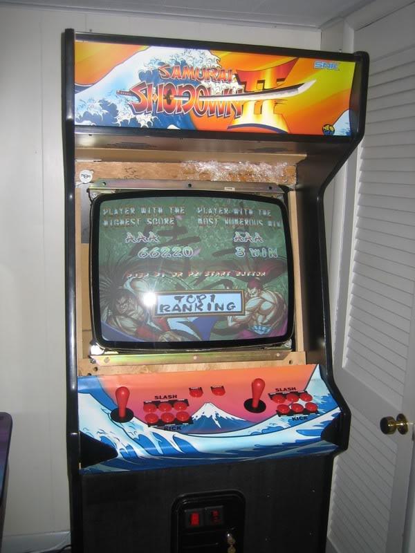 Samurai Shodown Ii Arcade Cabinet The Arcade Is On Fire