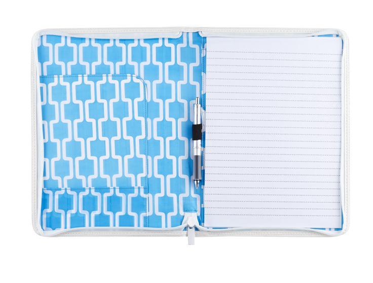 Document folio blue
