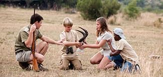 We have a Junior Ranger Programe for the Kids. To learn about the enviroment and all its glory from a young age.