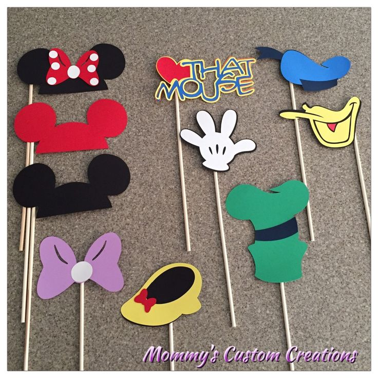 A personal favorite from my Etsy shop https://www.etsy.com/listing/257149743/disney-photo-booth-props-disney