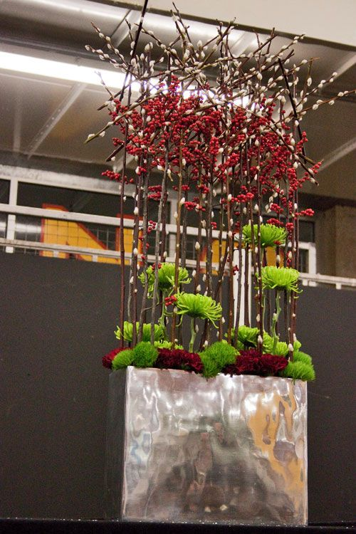 Christmas Preview Event at New Covent Garden Flower Market : Part 2 – David Denyer   Flowerona