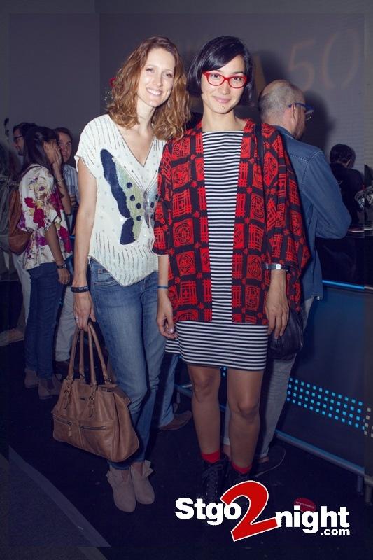 Kim Brierley ( Modelo y conductora de TV) Y Majo Arevalo ( Fundadora y Directora Viste La Calle ) En el Lanzamiento del nuevo Nokia Lumia 505