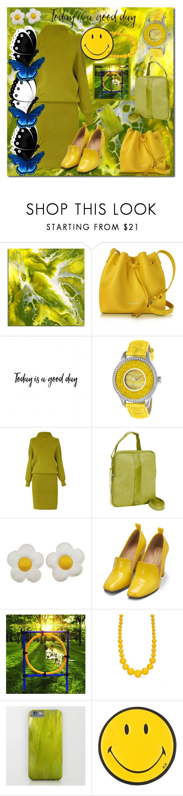 """This Is What Wednesday's Work Outfit Looks Like When Thursday Starts A 4 Day Agility Trial"" by sharee64 ❤ liked on Polyvore featuring Lancaster, Invicta, Lug, Bill Blass, Kim Rogers and Anya Hindmarch"