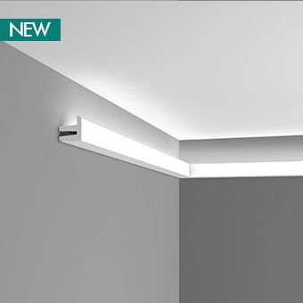 "Visit our online shop for a fantastic range of modern uplighting coving, downlighting coving and contemporary mouldings. Fast UK wide delivery. Scott, ""Interesting lighting option. LED strip lighting sounds interesting"""