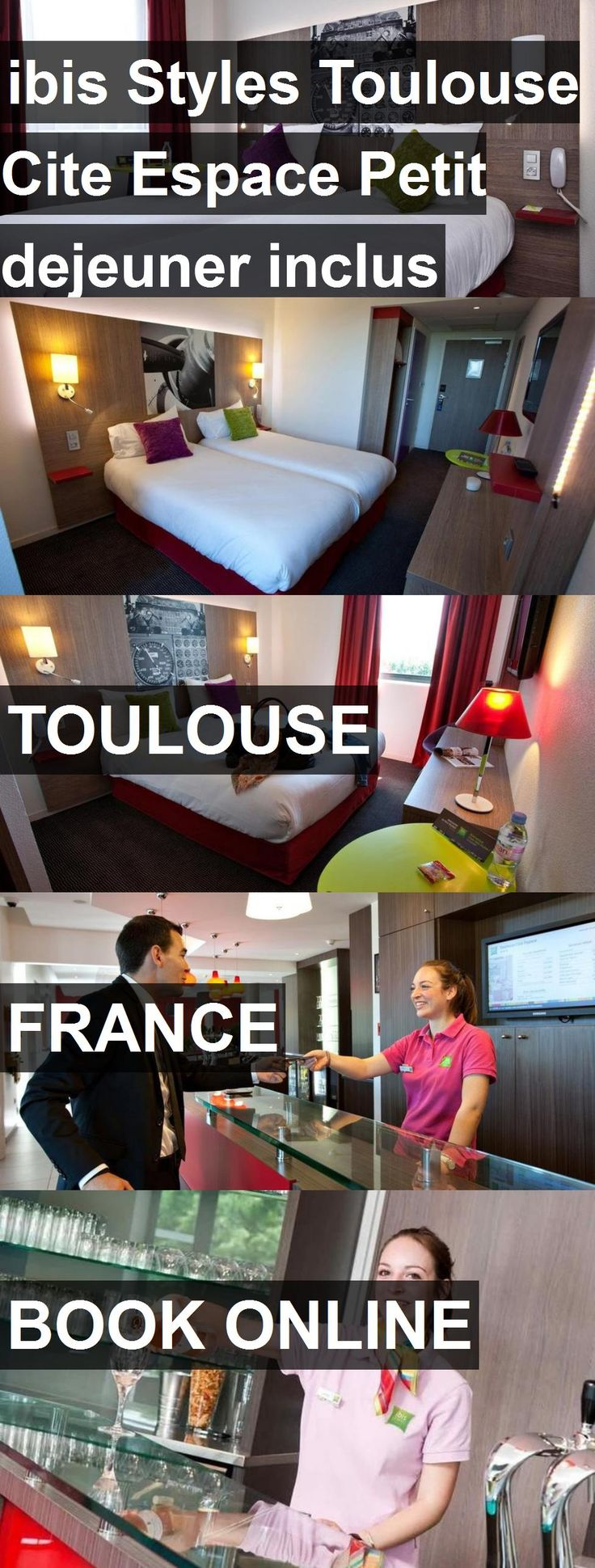 Hotel ibis Styles Toulouse Cite Espace Petit dejeuner inclus in Toulouse, France. For more information, photos, reviews and best prices please follow the link. #France #Toulouse #travel #vacation #hotel