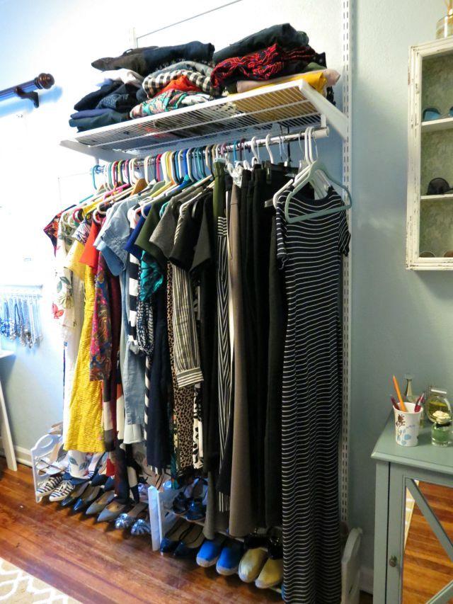 Real Dressing Room, How To Turn Spare Bedroom Into Walk In Closet, Dream  Closet. Elfa ClosetCloset SystemDream ...