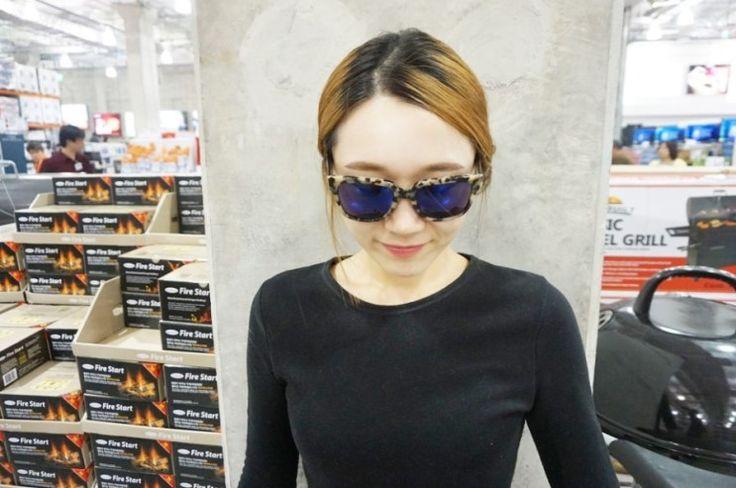 [공유] 여자 선글라스 추천 : 뉴욕감성의 아일랜드서프 COL.31 유니크해