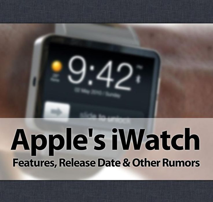 Apple iWatch: Release Date, Features of iWatch