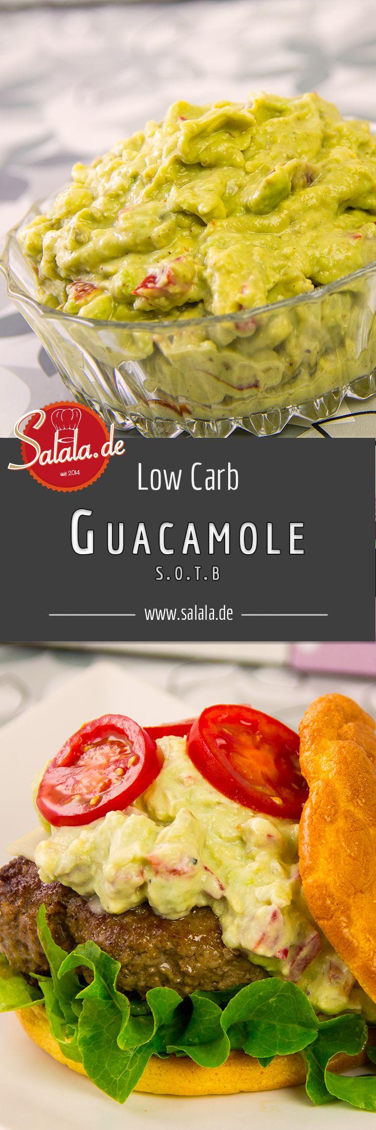 Guacamole (s.o.t.b) – Avocado Creme Low Carb   – Low Carb Kochrezepte deutsch