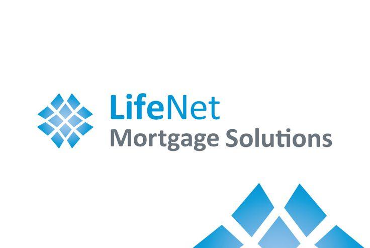LifeNet Mortgage Solutions - Logo Design  logo design perth | graphic design perth www.cvwcreative.com.au - 08 9219 1300