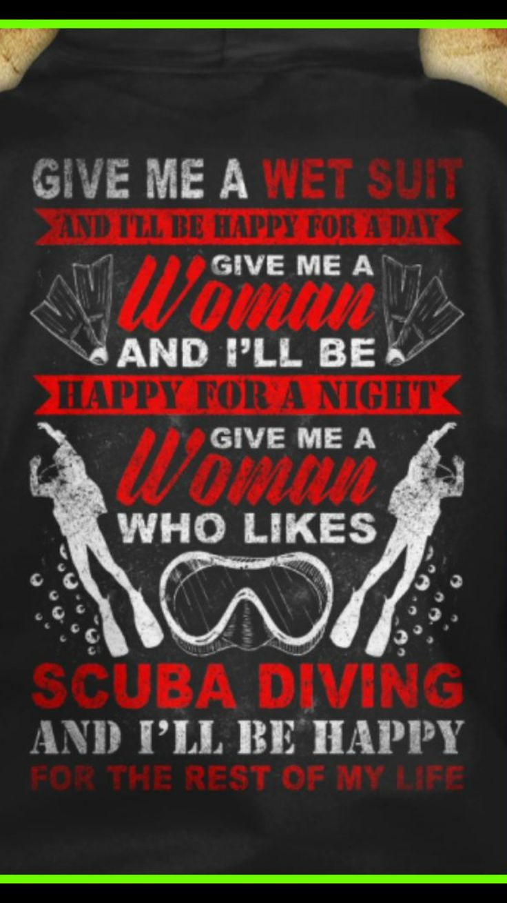 Diving quote                                                       …