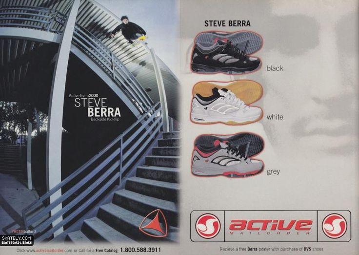 Active Ride Shop - Steve Berra Model Ad (2000)
