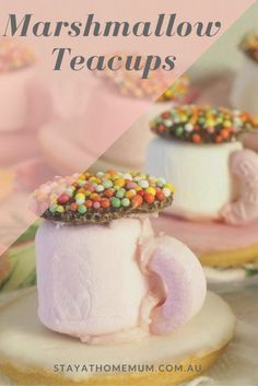 Marshmallow Tea Cups Recipe   Stay at Home Mum