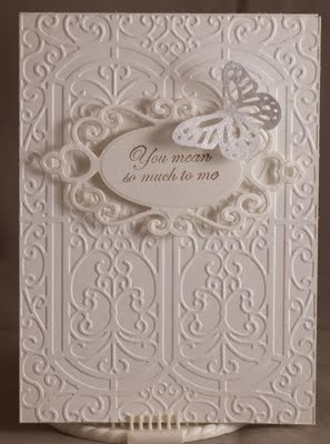 all white wonderfulness: Wedding Cards, White Wedding, Butterfly Cards, Cards Cricut Cuttlebug, Cards Butterflies, Cards Cuttlebug, Cards Wedding, Cards Crafts, Anniversary Cards