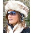Faux Fur Husky Ski Helmet Band. Buy it online at www.lotustravelessentials.co.uk