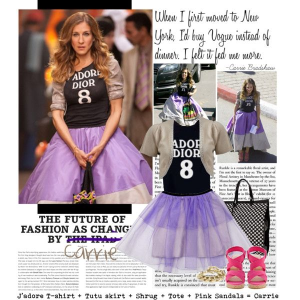 """""""This Halloween Dress as Carrie Bradshaw"""" by julietav on Polyvore"""