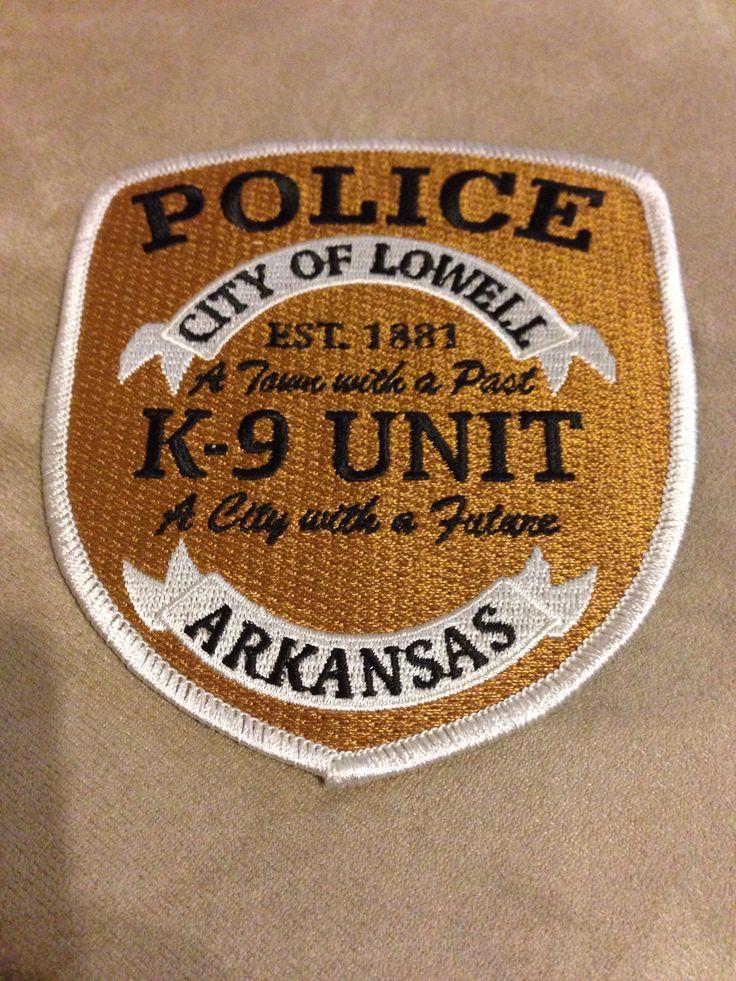 Lowell Police Department K9 Unit Arkansas Police