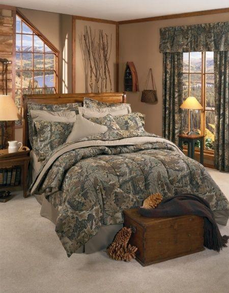 Realtree Advantage Camouflage Bedding Comforter Set