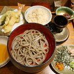 錦織 (ニシコオリ)錦織 蕎麦ダイニング - 中目黒 - ランチBセット(2500円)