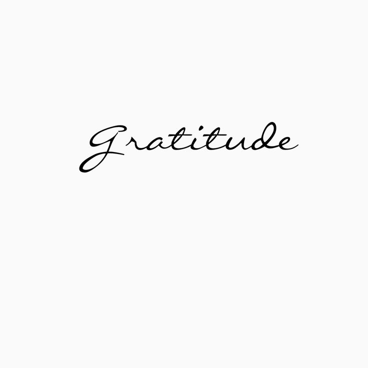 Gratitude                                                                                                                                                      Más