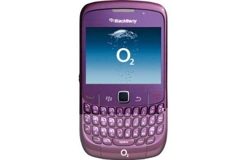BlackBerry Curve 8520 Purple Unlocked QWERTY Mobile Phone