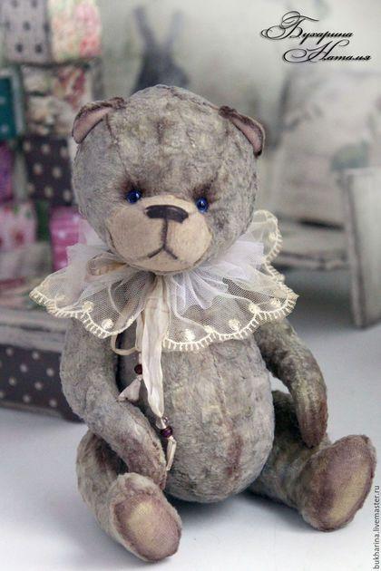 Мишки Тедди ручной работы. Ярмарка Мастеров - ручная работа. Купить Мишка.... Handmade. Бежевый, авторская работа, декоративные элементы