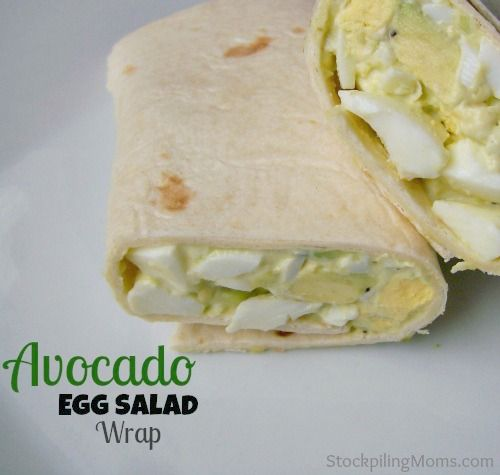 Avocado Egg Salad Wrap. Avocado Recipe curated by SavingStar. Save money on your groceries and online shopping the smart and easy way with SavingStar.com!