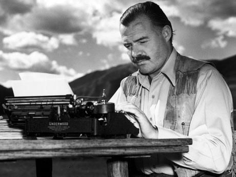 You must be prepared to work always without applause.  ERNEST HEMINGWAY  #amwriting #writing