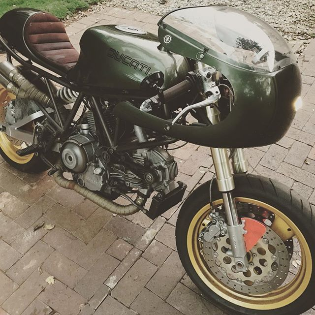 Ready to run... #ducati #900ss #soulmoto #elchupacabra