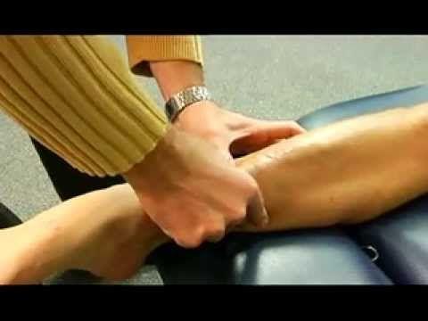 ▶ Active Release Technique - Triathlete with Achilles Pain - YouTube (Plantar Fasciitis Treatment)