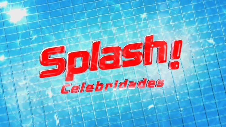 """Concorrentes de """"Splash Celebridades"""" prontos para mergulhar [com fotos]"""