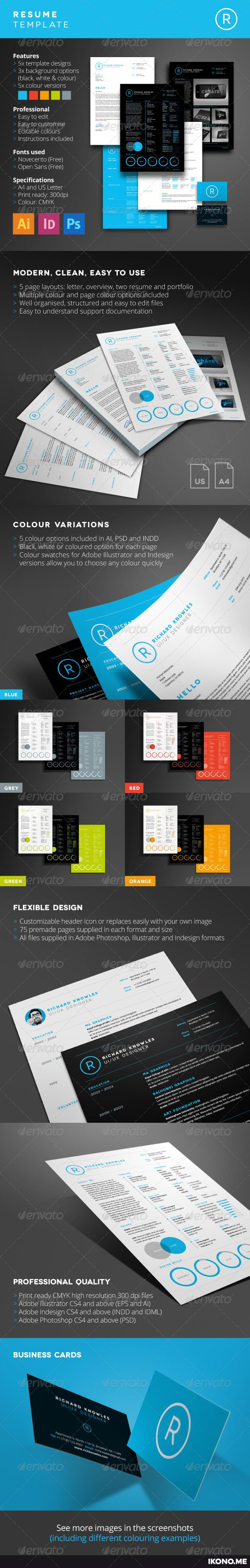 Resume 34 best Ready to Use Graphic Designs