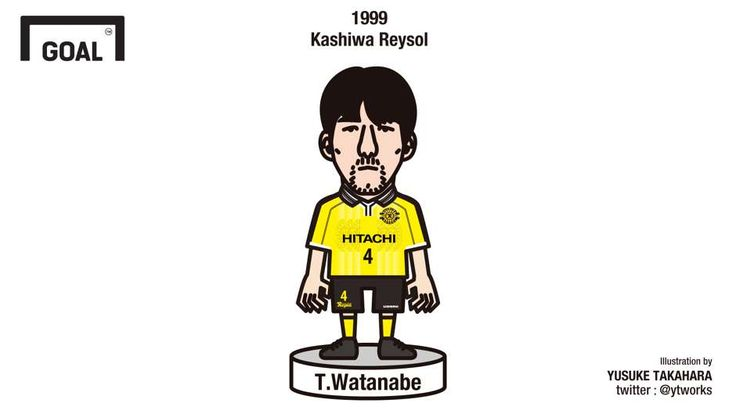 1999 | 渡辺毅 (柏レイソル) | Takeshi Watanabe (Kashiwa Reysol) - Goal.com
