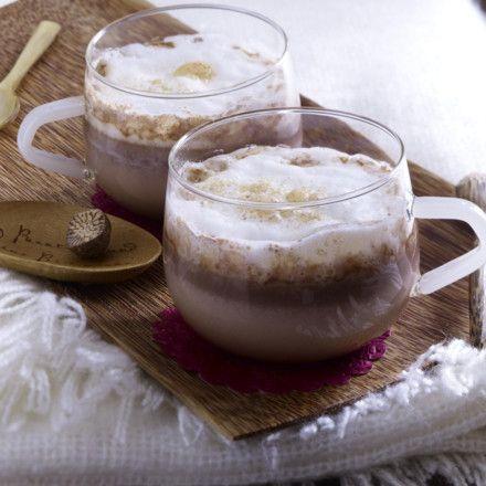 Heiße Chai-Schokolade