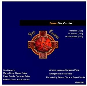 """""""DVD Demo"""" by Ses Cordas - Credits: Audio/Video Engineering, Post-Production - Release Year: 2008"""