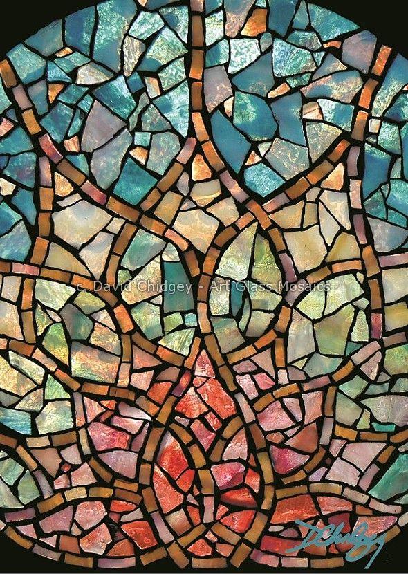 Lotus Rising by David Chidgey Art Glass