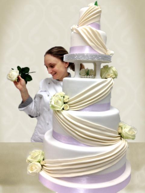 Monumental wedding Cake