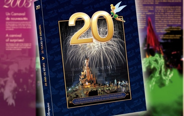 """The anniversary book """"20 Years Of Dreams"""" is out in the stores in DLP today! Go get your copy as soon as you can - there's only 5,000 available at first print!"""