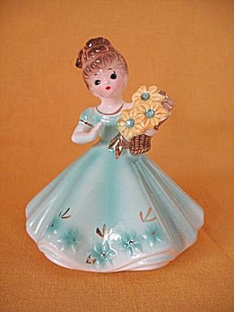 Josef Original March Birthday Girl Figurine